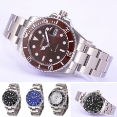 40mm Parnis Sapphire Glass Miyota Automatic Luminous Marker Men Boy Luxury Watch